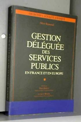 GESTION DELEGUEE DES...