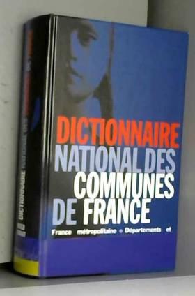 Dictionnaire national des...