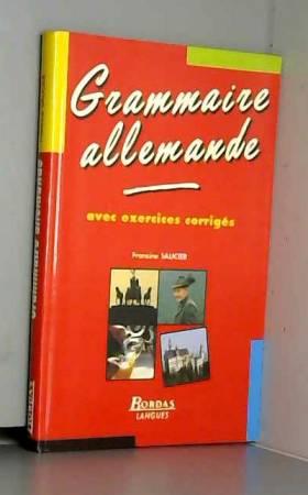 Francine Saucier - SAUCIER/GRAMM.ALLEMANDE    (Ancienne Edition)