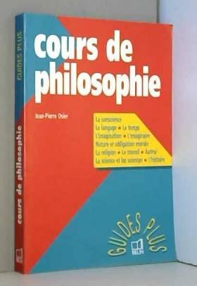 Jean-Pierre Osier - Cours de philosophie